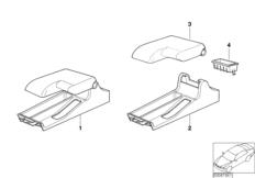 Retrofit kit, armrest front