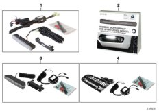 Retrofit kit, LED daytime driving lights