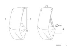 Bracket hard top/wall mounting