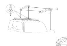 Adapter (universal lift) for hood