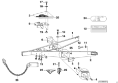 Trailer, individual parts, towbar