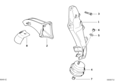 Engine Suspension / Damper