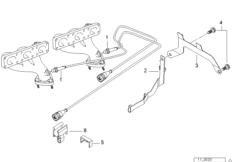 Lambda Probe Fixings