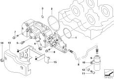 Cylinder Head Vanos/additional items