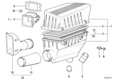 Suction silencer/Filter cartridge