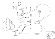 Fuel tank breath.valve/disturb.air valve