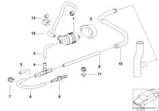 Fuel tank breath.valve/disturb.air valve
