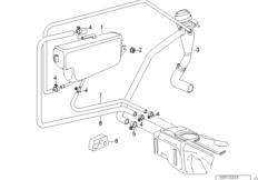 Expansion tank/tubing