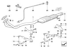 Catalyst/lambda probe