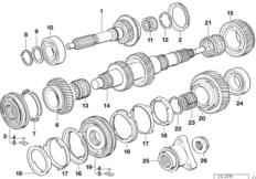 S5D...G drive shaft/output shaft