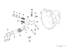 S5D...G inner gear shifting parts