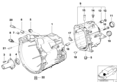S5D...Z crankcase   mounting parts