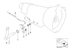 A5S300J gear shifting part