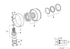 A5s310z drive clutch b/brake band c2