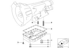 A5S300J oil pan