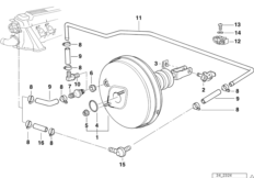 Power brake unit ASC T