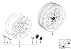 Disk double-spoke M (diz. 22)