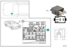 Cut-off relay generator K2200