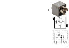 Diode relay