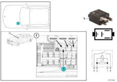 Relay for oxygen sensor K5029