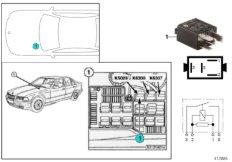 Relay for air pump K5029