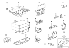 Various wiring connectors