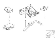 Ews control unit/tr module/support