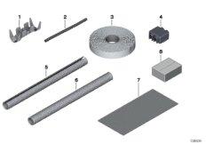 Various parts, wiring harness repair