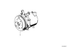 Air-conditioner compressor