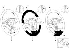 Individual M steering wheel airbag SA 710