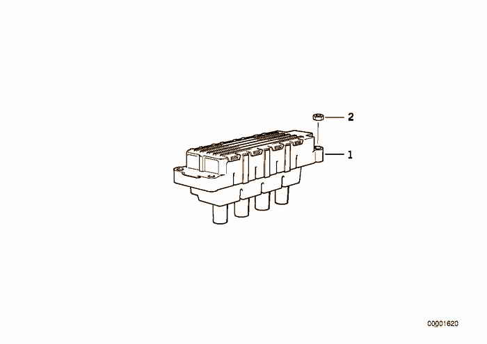 Ignition coil BMW 318is M44 E36 Coupe, Europe