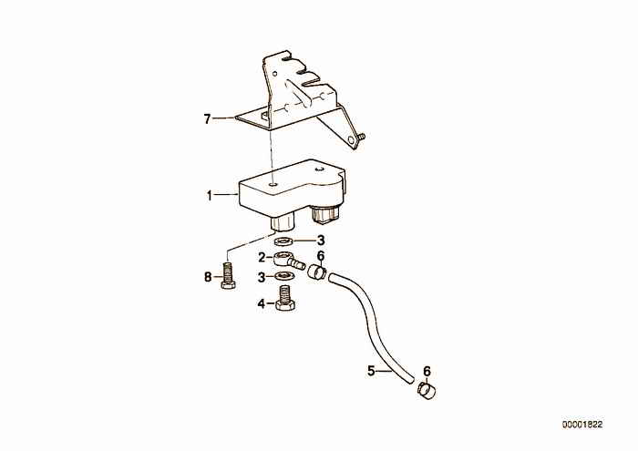 The mechanism of diesel engine management BMW 318tds M41 E36 Sedan, Europe
