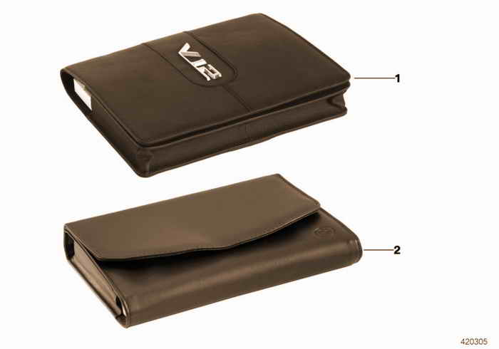 Logbook slipcase BMW BMW 316i M43 E36 Sedan, Europe