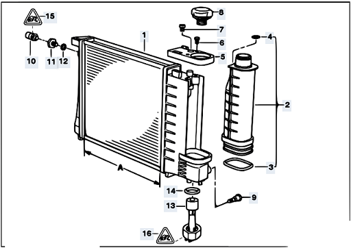 Bmw E Radiator on E36 Bmw Cooling System Diagram