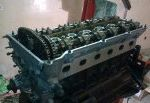 Engine Disassembly and Assembly: Engine Removed (M50)